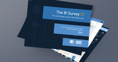 BARC BI Survey 2017 Qlik Rated By BI Users In 12 Top Categories