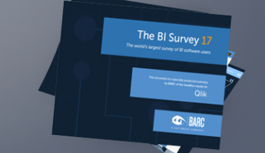 Qlik achieves top rankings in BARC's BI Survey 17