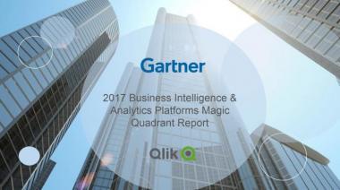 Qlik a Leader in 2017 Gartner Business Intelligence Magic Quadrant Report