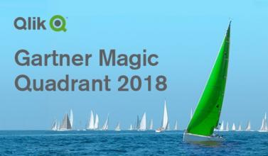 Gartner 2018 BI Magic Quadrant & Qlik