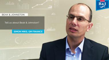 Simon Miks GM Finance Beak & Johnston Talks Host Analytics & cloud CPM