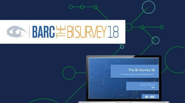 BARC BI Survey 18 Qlik Results