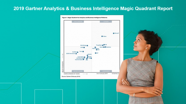 Qlik & Microsoft Rated Leaders In 2019 Gartner Analytics & BI Magic Quadrant Report