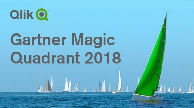 Gartner 2018 Analytics & Business Intelligence Magic Quadrant & Qlik a Leader