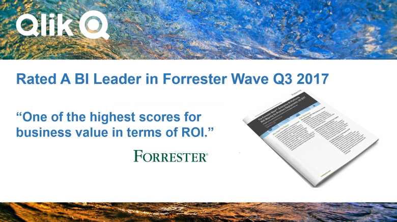 Forrester rate Qlik a Leader in Business Analytics